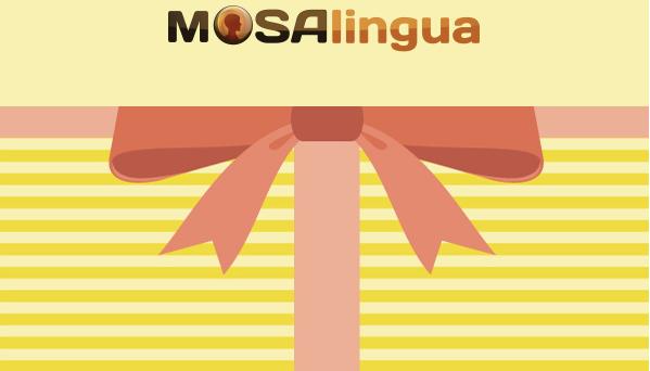 La carte cadeau MosaLingua